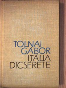 Tolnai Gábor - Itália dicsérete [antikvár]