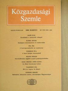 Bara Zoltán - Közgazdasági Szemle 1990. március [antikvár]