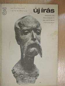 Abody Béla - Új Írás 1972. március [antikvár]