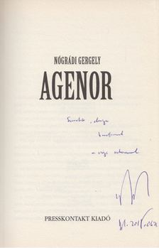 Nógrádi Gergely - Agenor (dedikált) [antikvár]