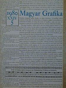 Bernát Iván - Magyar Grafika 1980/5. [antikvár]