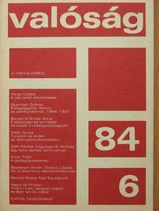 A. Miljukov - Valóság 1984. június [antikvár]