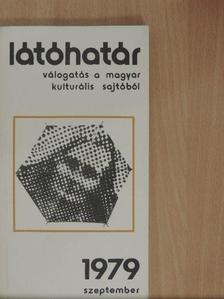 Benczédi László - Látóhatár 1979. szeptember [antikvár]