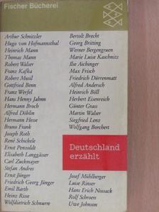 Arthur Schnitzler - Deutschland erzählt [antikvár]