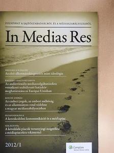 Bartóki-Gönczy Balázs - In Medias Res 2012/1. [antikvár]