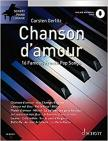 CHANSON D'AMOUR. 16 FAMOUS FRENCH POP SONGS. ONLINE MATERIAL AUDIO