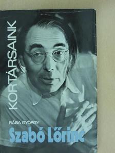 Rába György - Szabó Lőrinc [antikvár]