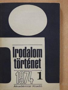 Andor György - Irodalomtörténet 1974/1. [antikvár]