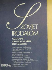 Arvo Valton - Szovjet Irodalom 1990/6. [antikvár]
