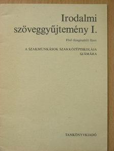 Bessenyei György - Irodalmi szöveggyűjtemény I. első (kiegészítő) füzet [antikvár]