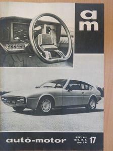 Almássy Tibor - Autó-Motor 1973. szeptember 6. [antikvár]