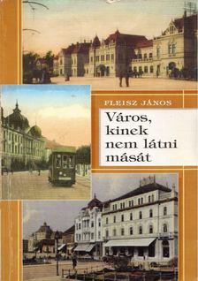Fleisz János - Város, kinek nem látni mását [antikvár]