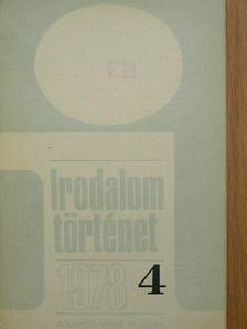 Agárdi Péter - Irodalomtörténet 1978/4. [antikvár]
