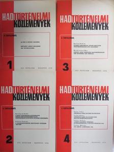 A. A. Grecsko - Hadtörténelmi Közlemények 1978/1-4. [antikvár]