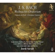 Bach - CHRISTMAS ORATORIUM 2CD SAVALL