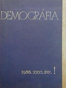 Kovács Tibor - Demográfia 1988/1. [antikvár]