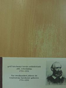 Dr. Vértes László - Gróf Széchenyi István születésének 200. évfordulója 1791-1991 [antikvár]