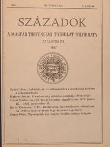 Boros Zsuzsanna - Századok 1990/3-4. [antikvár]