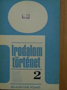 Bécsy Ágnes - Irodalomtörténet 1987-1988/2. [antikvár]