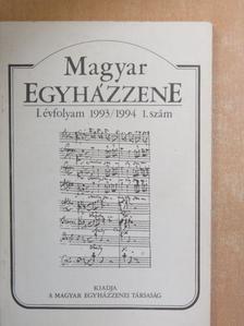 Berki Feriz - Magyar Egyházzene 1993/1994 1. [antikvár]