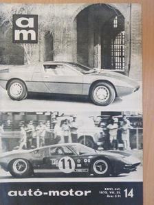 Füzes Sándor - Autó-Motor 1973. július 21. [antikvár]