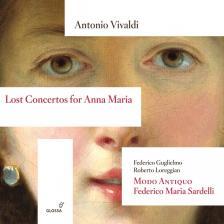 Vivaldi - LOST CONCERTOS FOR ANNA MARIA CD FEDERICO MARIA SARDELLI