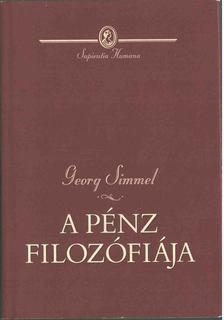 Simmel, Georg - A pénz filozófiája [antikvár]