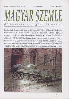 Kodolányi Gyula - Magyar Szemle 2016. október [antikvár]