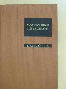 Albert Halper - Mai amerikai elbeszélők [antikvár]