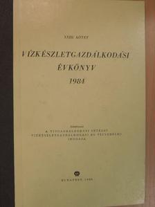 Dr. Kardos Mária - Vízkészletgazdálkodási évkönyv 1984 [antikvár]
