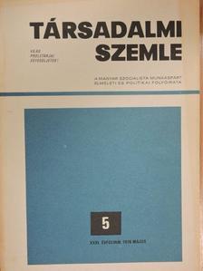 Barabás János - Társadalmi Szemle 1976. május [antikvár]