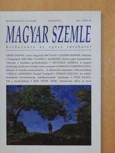 Bibó István - Magyar Szemle 2017. április [antikvár]