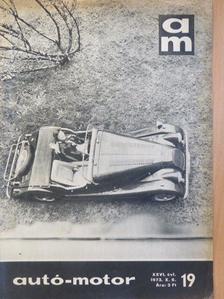 Liener György - Autó-Motor 1973. október 6. [antikvár]
