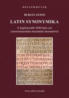 BURIÁN JÁNOS - Latin synonymika