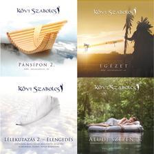 Kövi Szabolcs - Kövi Szabolcs négy 2019-es CD újdonsága ünnepi csomagolásban (fehér organza tasakban)