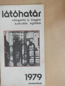 Ágh István - Látóhatár 1979. november [antikvár]