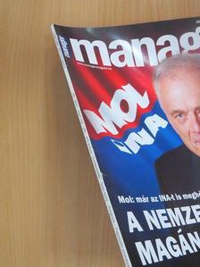 Beke Dávid - Manager Magazin 2009. július-augusztus [antikvár]