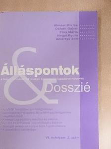 Almási Miklós - Álláspontok & Dosszié [antikvár]