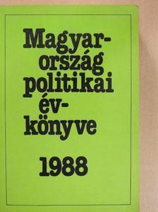 Ábel István - Magyarország politikai évkönyve 1988 (dedikált példány) [antikvár]