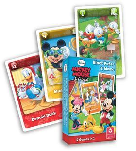 Cartamundi - Mickey Mouse & Friends MINI Fekete Péter kártya