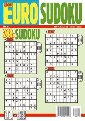 CSOSCH KIADÓ - EURO Sudoku 2018/1
