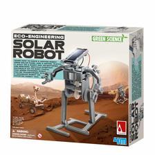 Zöld tudomány- Napelemes robot