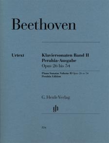 BEETHOVEN - KLAVIERSONATEN BAND II. PERAHIA-AUSGABE