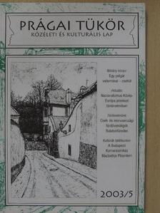 Berkes Tamás - Prágai Tükör 2003/5. [antikvár]