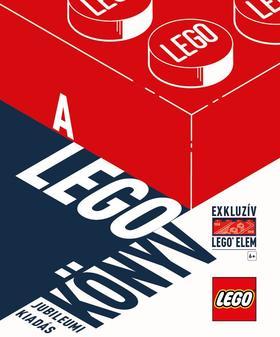 HVG KIADÓ - A LEGO KÖNYV - Jubileumi kiadás exkluzív elemmel