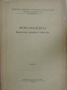 Siklós András - Bibliográfia Magyarország legújabbkori történetéhez [antikvár]