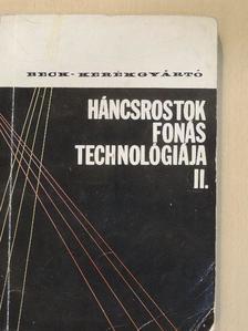Beck Tamás - Háncsrostok fonástechnológiája II. [antikvár]