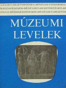 Botka János - Múzeumi levelek 43-44. [antikvár]