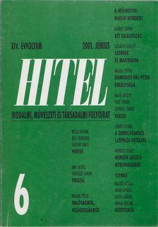 Csoóri Sándor - Hitel 2001. június [antikvár]
