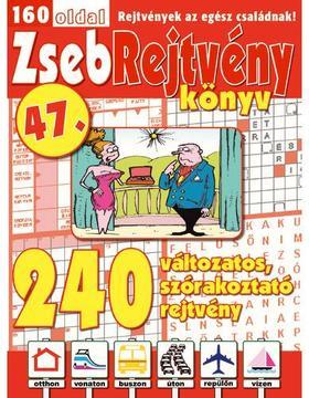 CSOSCH KIADÓ - ZsebRejtvény Könyv 47.
